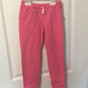 5T pink cat & Jack jogger sweatpants